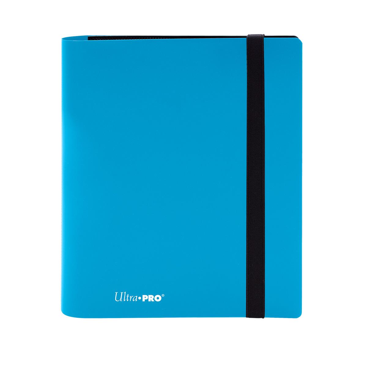 4-Pocket Eclipse Sky Blue PRO-Binder, Ultra PRO