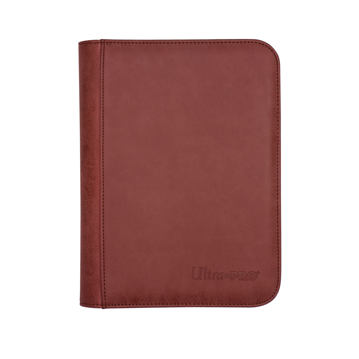 Suede Collection Zippered 4-Pocket Premium PRO-Binder