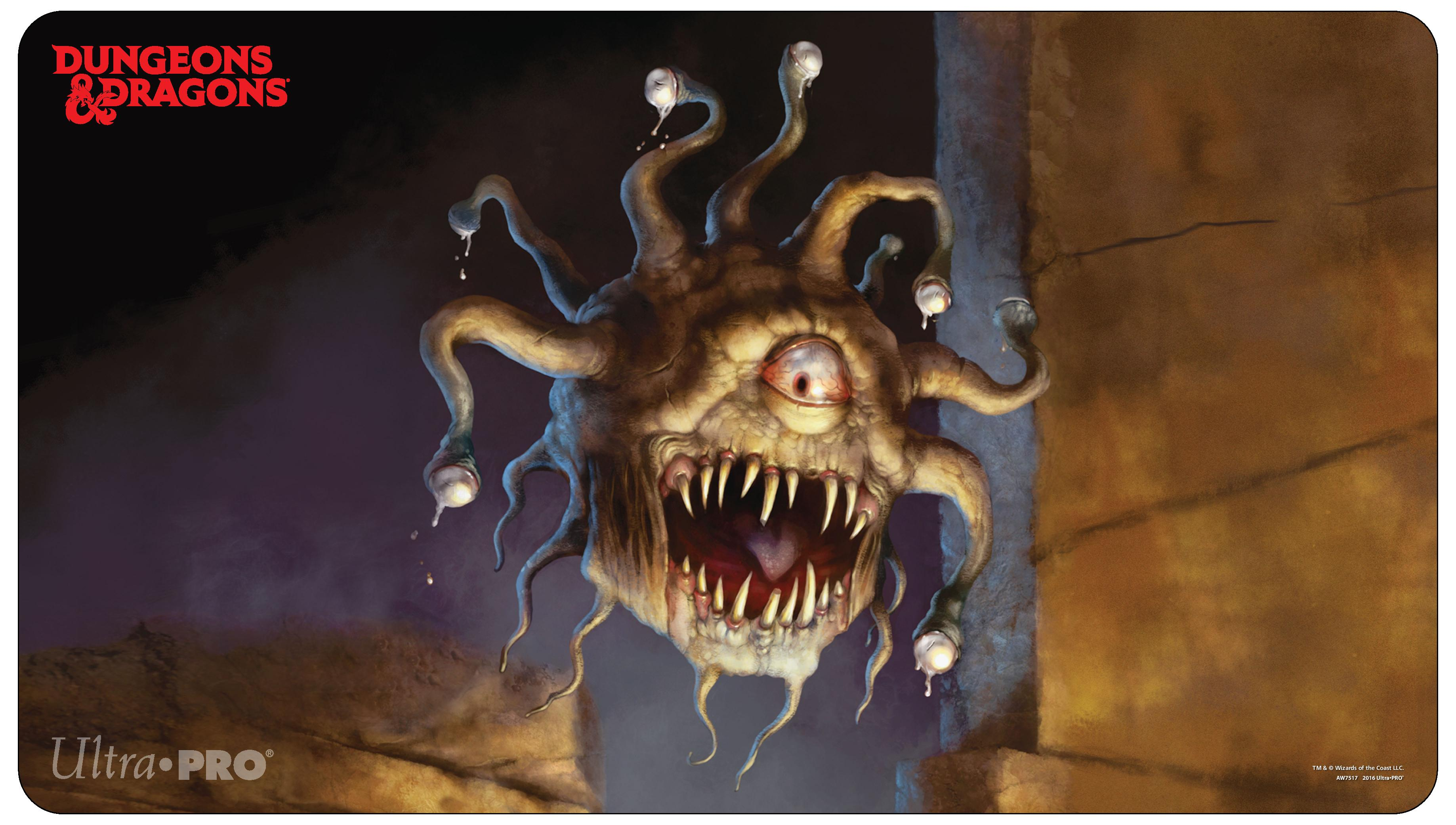 dungeons amp dragons beholder playmat ultra pro