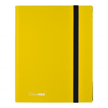 9-Pocket Eclipse Lemon Yellow PRO-Binder