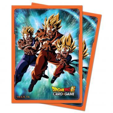 Dragon Ball Super Standard Deck Protector 65ct Family Kamehameha