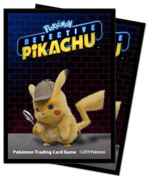 Pokémon: Detective Pikachu - Pikachu Deck Protector sleeves 65ct