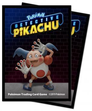 Pokémon: Detective Pikachu - Mr.Mime Deck Protector sleeves 65ct