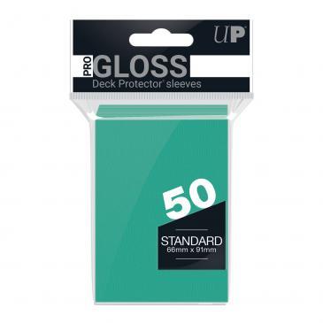 50ct Aqua Standard Deck Protectors