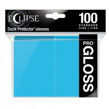 Eclipse Gloss Standard Sleeves: Sky Blue