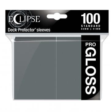 Eclipse Gloss Standard Sleeves: Smoke Grey