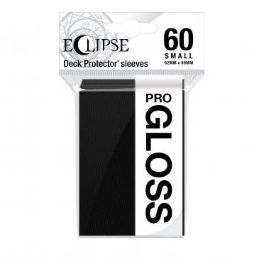Eclipse Gloss Small Sleeves: Jet Black