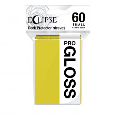 Eclipse Gloss Small Sleeves: Lemon Yellow