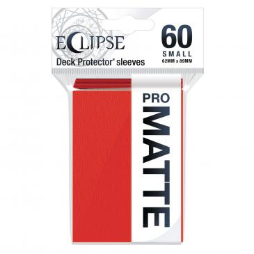 Eclipse Matte Small Sleeves: Apple Red