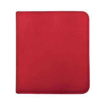 12-Pocket Zippered PRO-Binder - Red