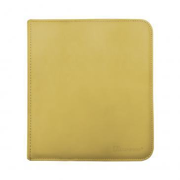 12-Pocket Zippered PRO-Binder - Yellow