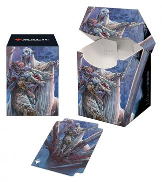 Adventures in the Forgotten Realms 100+ Deck Box V3 featuring Lolth, Spider Queen for Magic: The Gathering
