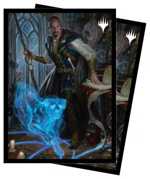 Adventures in the Forgotten Realms 100ct Sleeves V2 featuring Mordenkainen for Magic: The Gathering