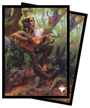 Adventures in the Forgotten Realms 100ct Sleeves V5 featuring Ellywick Tumblestrum for Magic: The Gathering