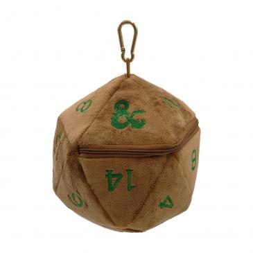 Feywild Copper and Green D20 Dice Bag for Dungeons & Dragons