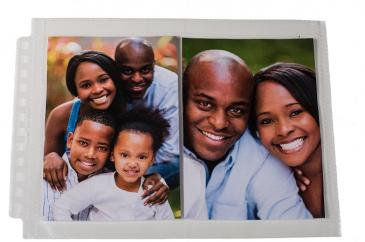 "12-Hole Horizontal Photo Page Pack for 5"" x 7"" Prints 25ct"