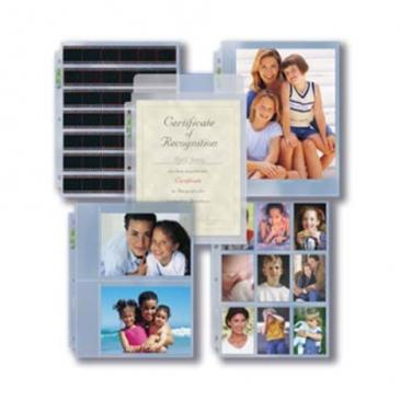 3-Hole Assorted Photo Page 9ct Pack