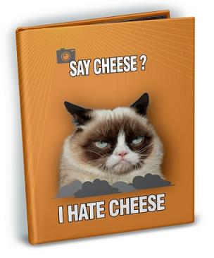 Grumpy Cat - Say Cheese 4x6 Mini Photo Album with Sticker Sheets