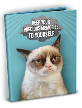 Grumpy Cat - Memories 4x6 Mini Photo Album with Sticker Sheets