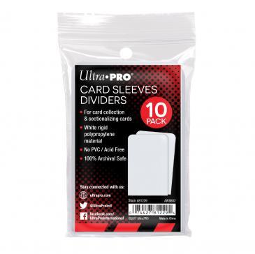 Semi-Rigid Card Divider White