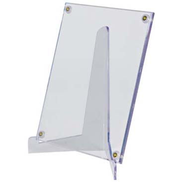 Large Lucite Stand for Card and Photo Holders