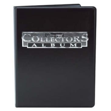 9-Pocket Black Collectors Portfolio