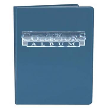 9-Pocket Blue Collectors Portfolio
