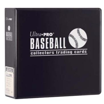 """3\"""" Black Baseball Album"""