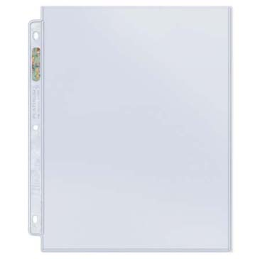 "1-Pocket Platinum Page with 8-1/2"" X 11\"" Pocket"