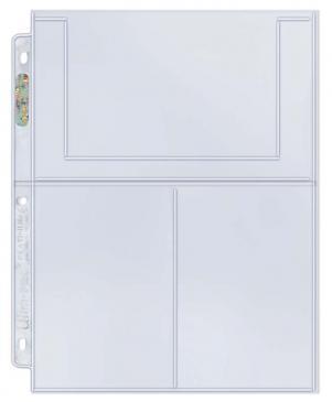 "3-Pocket Platinum Page for 4\"" X 6\"" Photos"