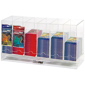 Acrylic Pack Dispenser 6-Slot