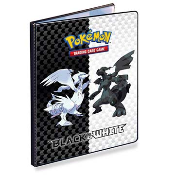 Black & White 9-Pocket Portfolio for Pokémon