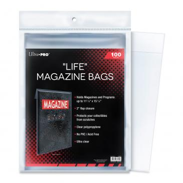 "Life Magazine 11-1/8\"" X 15-1/8\"" Bags"