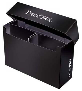 3 Compartment Oversized Black Deck Box