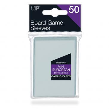 44mm X 68mm Mini European Board Game Sleeves 50ct