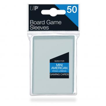 41mm X 63mm Mini American Board Game Sleeves 50ct