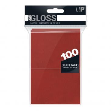100ct Red Standard Deck Protectors
