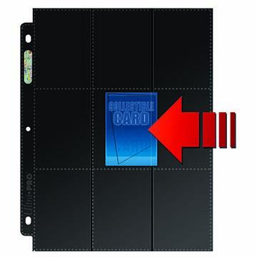 18-Pocket Platinum Side Load Page with Black Background