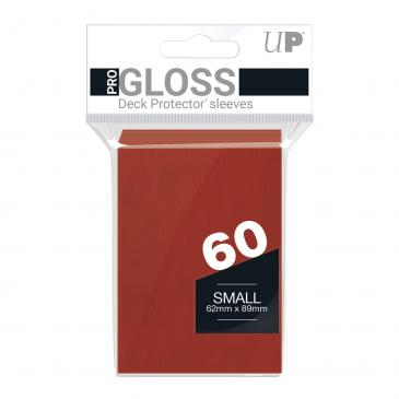 PRO-Gloss 60ct Small Deck Protector® sleeves: Red