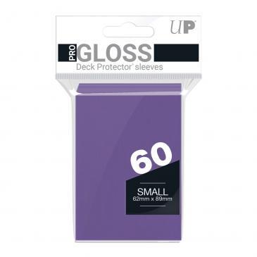 60ct Purple Small Deck Protectors