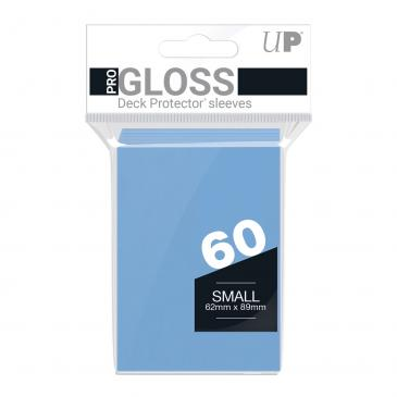 60ct Light Blue Small Deck Protectors