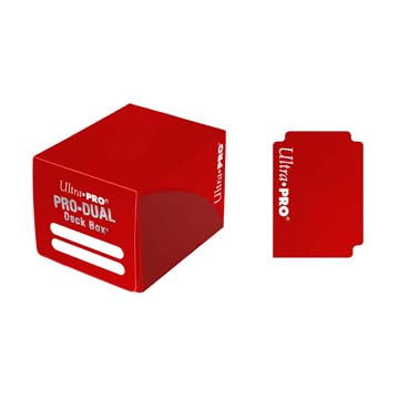 PRO Dual Small Red Deck Box