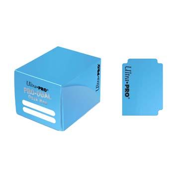 PRO Dual Small Light Blue Deck Box