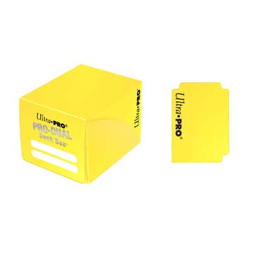 PRO Dual Small Yellow Deck Box
