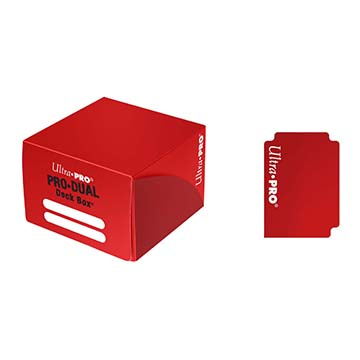 PRO Dual Standard Red Deck Box