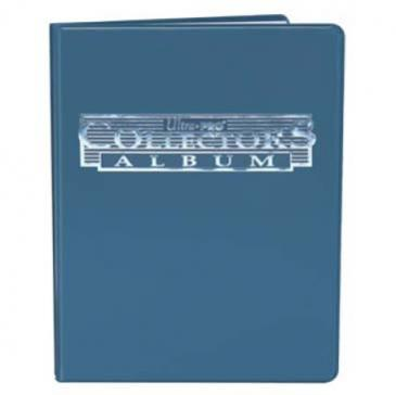 4-Pocket Blue Collectors Portfolio