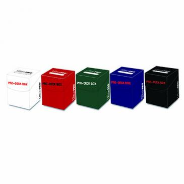 PRO-100+ Deck Box AMZ Bundle - 5 Colors Red, Blue, Green, Black, White