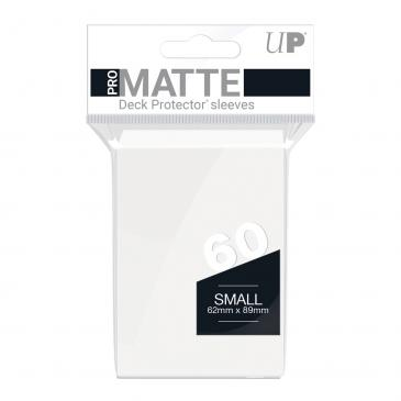 60ct Pro-Matte White Small Deck Protectors