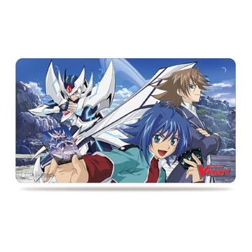 Blaster Blade, Aichi vs Kai Playmat for Cardfight!! Vanguard