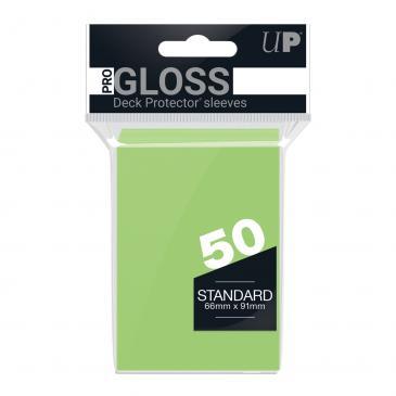 50ct Lime Green Standard Deck Protectors